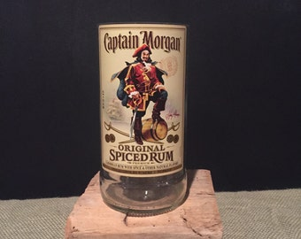 Liquor bottle cande- Captain Morgan- Customize your fragrance!