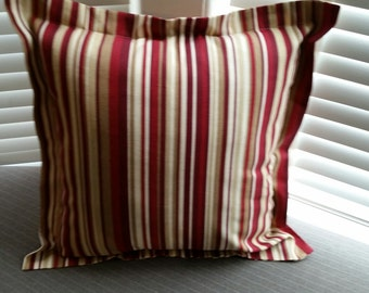 "Flange Pillow Cover 21"" x 21"""