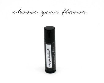 LOCAL listing for pick up only. Organic Lip Balm. Choose Your Flavor.