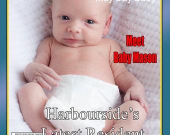 Personalised Magazine Cover
