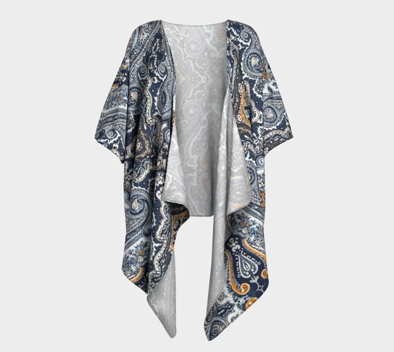 Pam Draped Kimono
