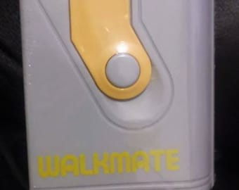 Vintage 80's WALKMATE walkman style water bottle