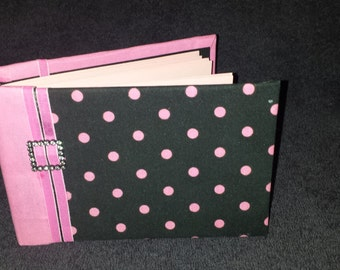 Pink Polka Dot Journal
