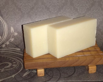 100% Natural Certified Organic Oils Sensitive Skin Unscented Bar 4.2oz Vegan Free Shipping!