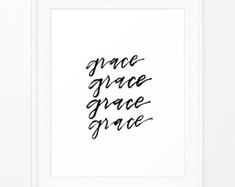 GRACE Printable - INSTANT DOWNLOAD