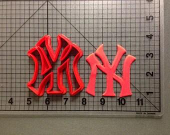New York Yankees  Cutter Cake Decoration