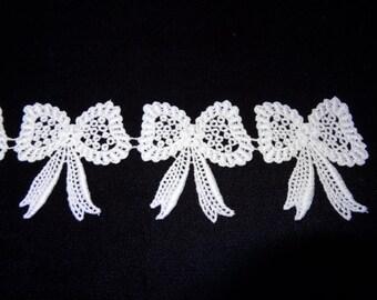 White Cotton Bows