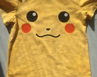 Pikachu Shirt With Tail!