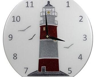 Nautical Style Lighthouse Clock