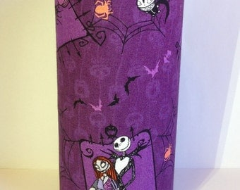 Nightmare Before Christmas Glass Decorative Vase/Candleholder
