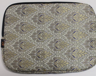Halli Laptop Sleeve 13' - White Gold India