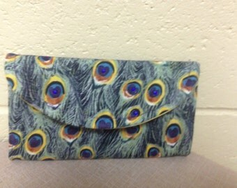 Fabric Clutch or Wallet