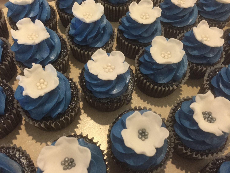 Fondant Flower Wedding Cupcake Topper Cake Topper Cake Pop