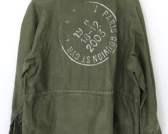 REMADE - Handpicked Vintage military army jackets with Print