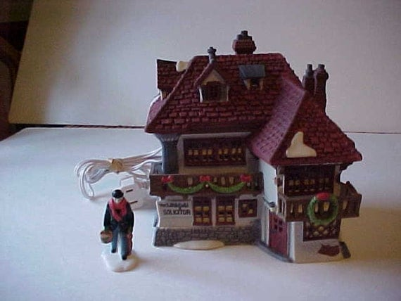 Dept 56 dickens village david copperfield mr wickfield for Department 56 dickens village most valuable