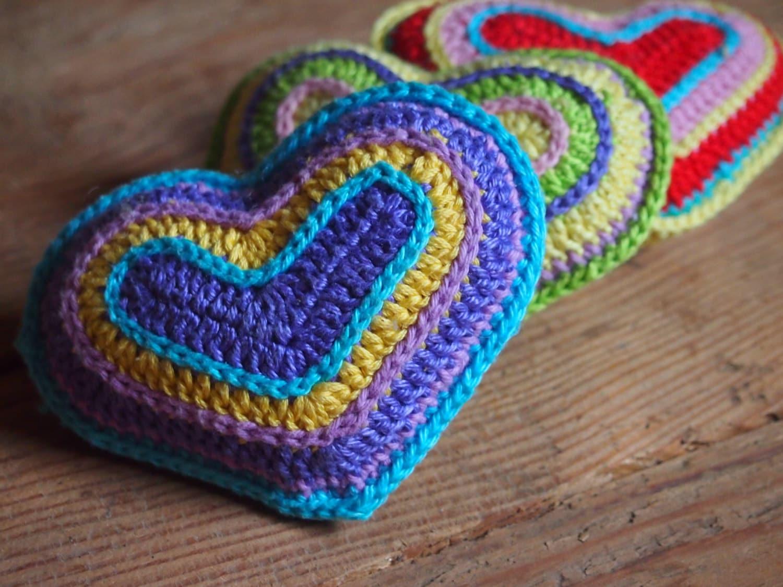 Amigurumi Crochet Heart Patterns : crochet pattern heart amigurumi crochet heart pattern