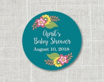 Baby Shower Stickers, Baby Party Stickers, Baby Shower Favor Stickers, Baby Party Labels