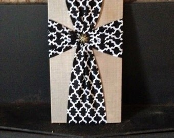 Fabric crosses with your choice of fabric