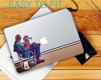 Deadpool macbook sticker - unique design | Laptop stickers | Macbook Decals - macbook skins