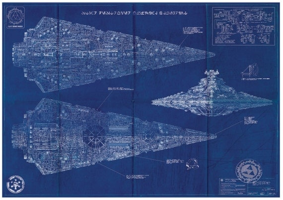 Imperial Star Destroyer Blueprints 113