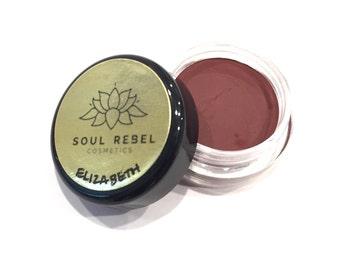 "Vegan Lipstick-Vampy Red- ""Elizabeth"" (Mini Pot)"