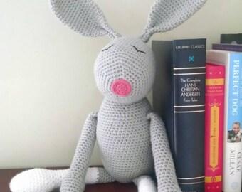 Amigurumi stuffed bunny rabbit
