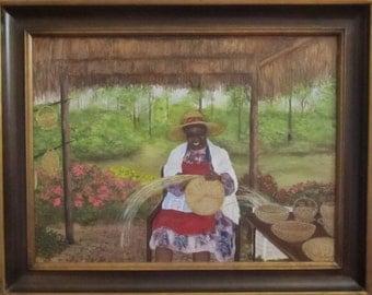 Lillian, Weaver of Sweetgrass