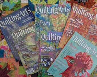Quilting Arts magazine / Issue # 11, 12, 33, 38, 41 & 50