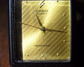 Retro wrist watch CASIO 361 MQ-37 used in good condition JAPAN