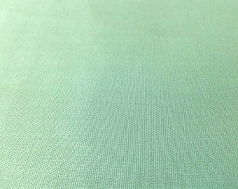 Seafoam Solid Color Fabric 100% Cotton, Mint, Pale Green, Aqua, Jade, Riley Blake, quilting, by the yard, half yard