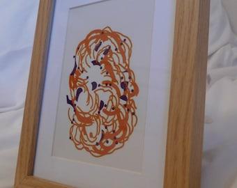 Digital Drawing - Framed Print #10