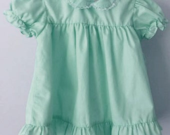 SALE  Adult Baby Sissy Cotton Diaper Showing dress