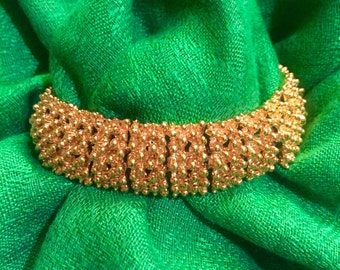 Vintage Signed Sarah Coventry Gold Bracelet