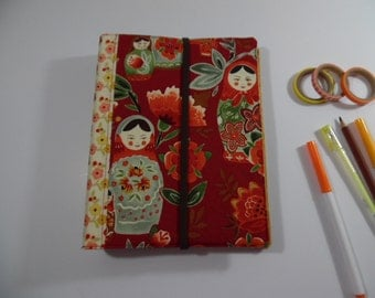 Fabric Covered 3 Ring Binder/ Planner/ Personal Organizer/ Calendar/ Journal/ A5 size