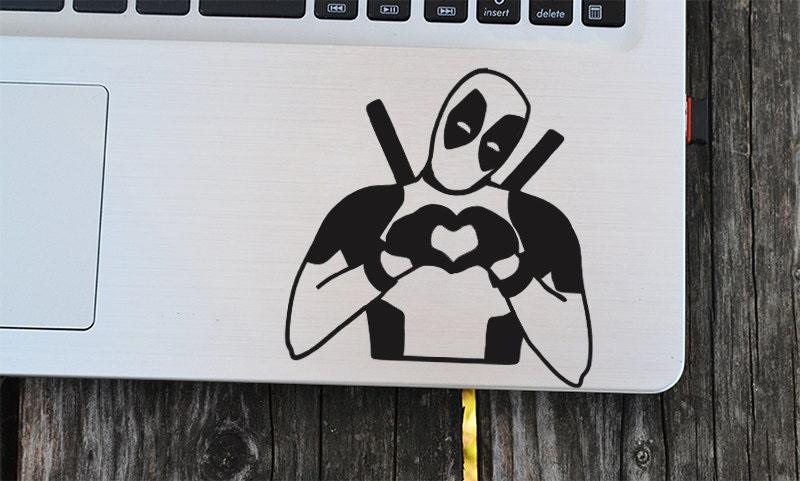 Deadpool Decal Laptop Decal Vinyl Decals Macbook Decal - Vinyl stickers for laptops