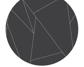 Geometric Circle Print