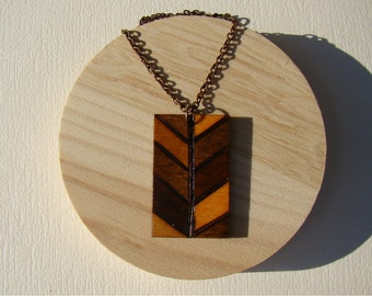 wooden necklace, woodburned necklace, wooden pendant, woodburned pendant, pyrography pendant, pyrography necklace, natural necklace