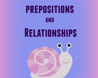 Prepositions and Relationships Worksheets / Prewriting / Preschool / Kindergarten / Game / Printable / Autism Support / Instant Download