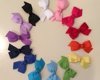 Small Toddler Knotted Bows! - Sets of 6