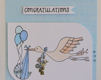 Handmade Card - Congratulations