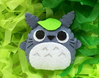 Little Felt Totoro Doll