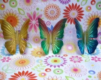 Homco Butterflies