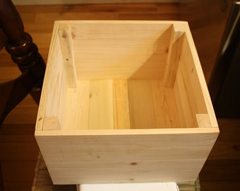 Solid Wood Crates Etsy