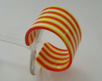 Stripped Plastic Cuff