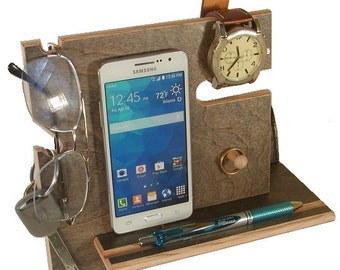 Universal Smart Phone Dock, Mens Valet, iPhone6, 6s Docking Station