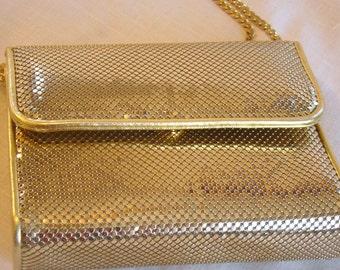 Gold Mesh Whiting & Davis Evening Bag