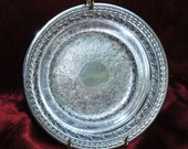 SALE!  20% OFF!  Reed Barton Silver Plate Holloware Bon Bon Bowl