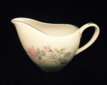 Vintage Fine China Japan Romance Rose Creamer