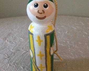Saint Patrick ornament