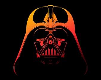 Darth Vader - Star Wars | CranioDsgn. Fine Art Print - Golden Limited Edition.